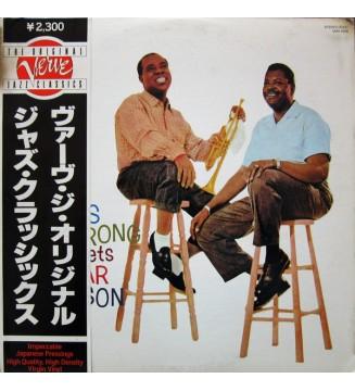 Louis Armstrong Meets Oscar Peterson - Louis Armstrong Meets Oscar Peterson (LP, Album, RE) vinyle mesvinyles.fr