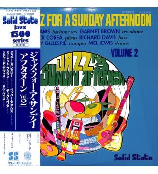 Various - Jazz For A Sunday Afternoon Volume 2 (LP, Album, RE) vinyle mesvinyles.fr