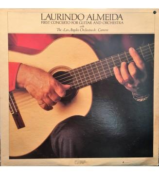 Laurindo Almeida - First Concerto For Guitar & Orchestra  (LP) vinyle mesvinyles.fr
