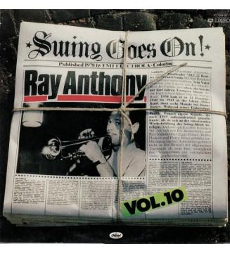Ray Anthony - Swing Goes On! Vol. 10 (LP, Comp) vinyle mesvinyles.fr