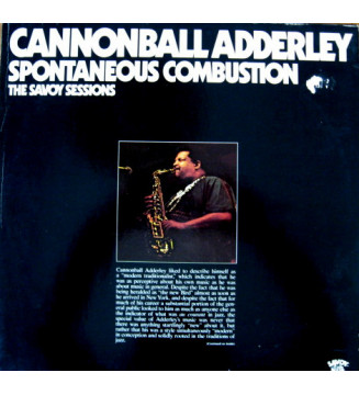 Cannonball Adderley - Spontaneous Combustion (2xLP, Comp, RE, Ter) vinyle mesvinyles.fr
