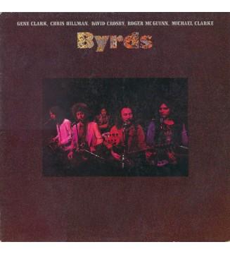 Gene Clark, Chris Hillman, David Crosby, Roger McGuinn, Michael Clarke - Byrds (LP, Album, PR ) vinyle mesvinyles.fr