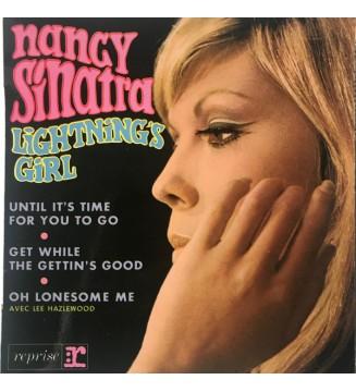 """Nancy Sinatra - Lightning's Girl (7"""", EP) vinyle mesvinyles.fr"""