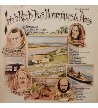 Various - Irish Reels, Jigs, Hornpipes And Airs (LP, Comp) vinyle mesvinyles.fr