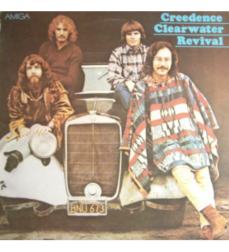 Creedence Clearwater Revival - Creedence Clearwater Revival (LP, Comp) vinyle mesvinyles.fr