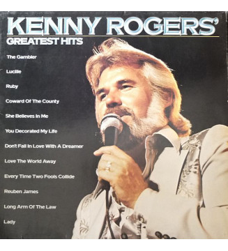 Kenny Rogers - Greatest Hits (LP, Comp) vinyle mesvinyles.fr