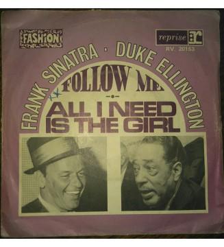 """Frank Sinatra - Duke Ellington - Francis A. & Edward K.  (7"""", Single) mesvinyles.fr"""