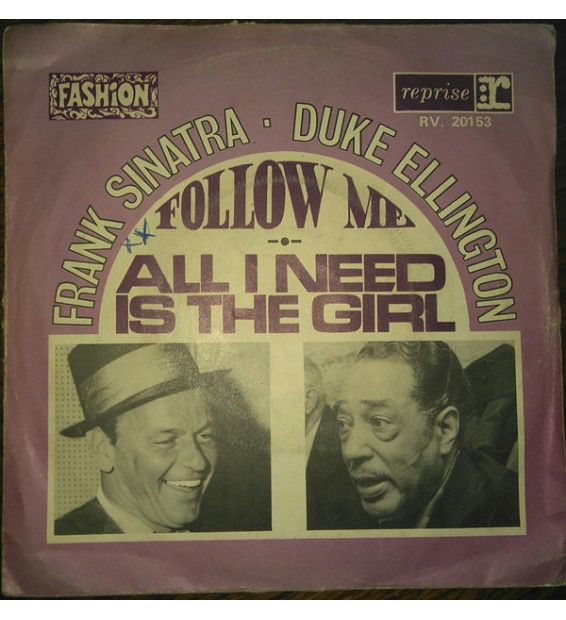 "Frank Sinatra - Duke Ellington - Francis A. & Edward K. (7"", Single)"