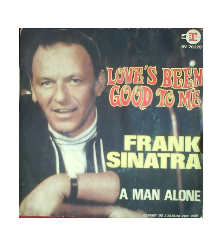 "Frank Sinatra - Love's Been Good To Me / A Man Alone (7"", Single) mesvinyles.fr"