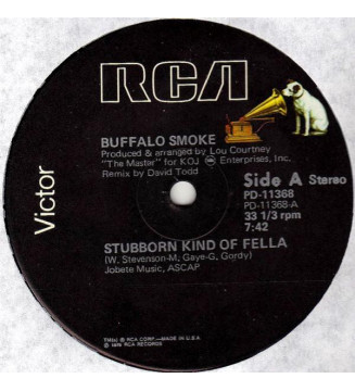 "Buffalo Smoke - Stubborn Kind Of Fella (12"")"