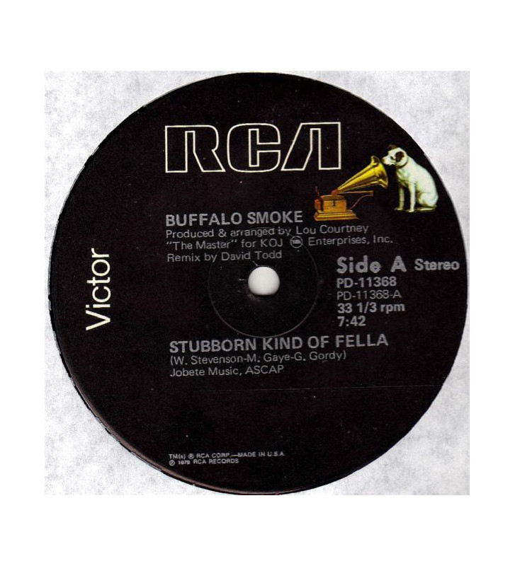"Buffalo Smoke - Stubborn Kind Of Fella (12"") mesvinyles.fr"