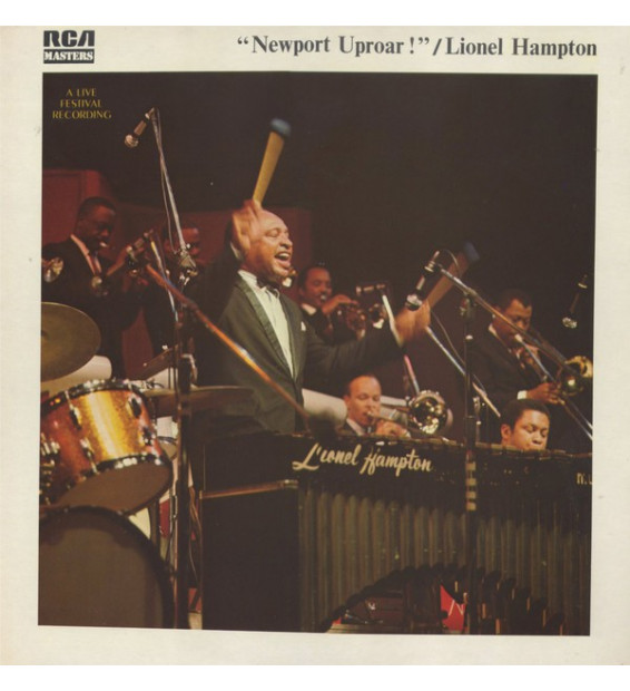 Lionel Hampton - Newport Uproar ! (LP, Album, RE, Gat)