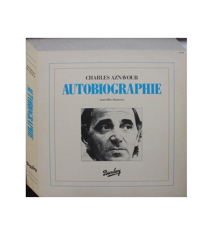 Charles Aznavour - Autobiographie (LP, Album) mesvinyles.fr