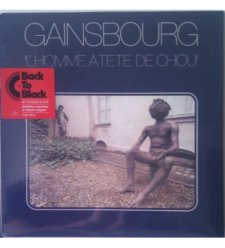 Gainsbourg* - L'Homme À Tête De Chou (LP, Album, RE, 180)
