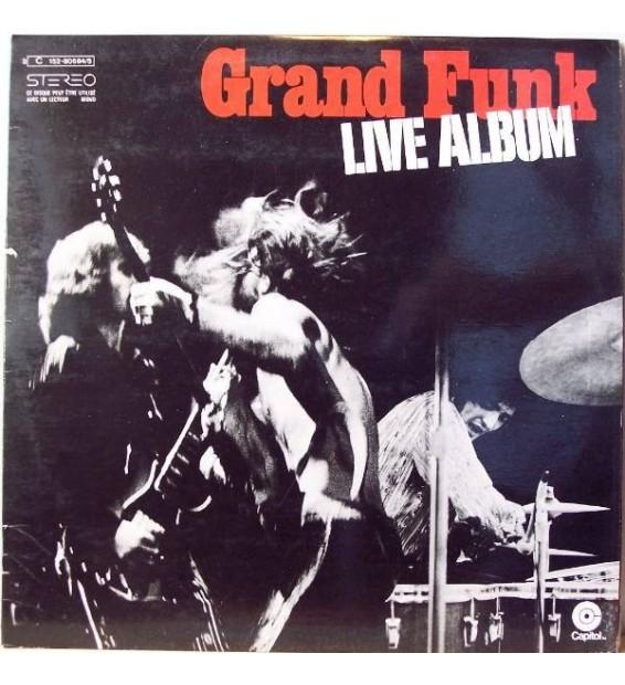Grand Funk Railroad - Live Album mesvinyles.fr