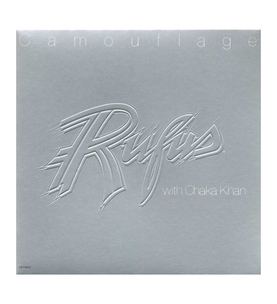 Rufus With Chaka Khan* - Camouflage (LP, Album, Emb)