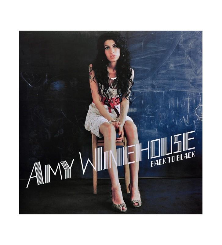 Amy Winehouse - Back To Black (LP, Album) mesvinyles.fr
