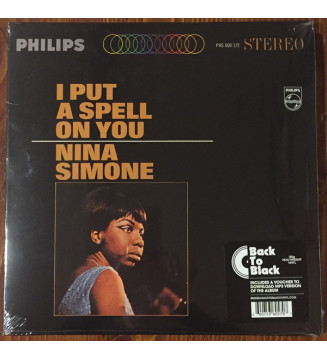 Nina Simone - I Put A Spell On You (LP, Album, RE)