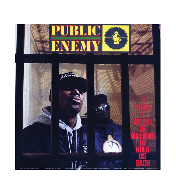Public Enemy - It Takes A Nation Of Millions To Hold Us Back (LP, Album, RE, 180) mesvinyles.fr