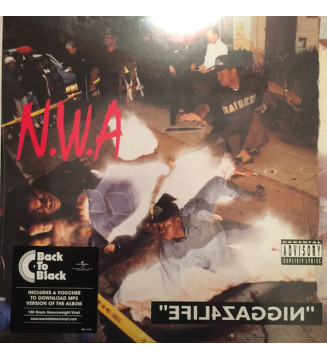 N.W.A* - Efil4zaggin (LP, Album, RE, 180) mesvinyles.fr