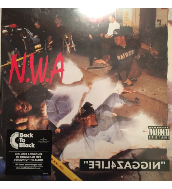 N.W.A* - Efil4zaggin (LP, Album, RE, 180)
