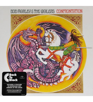 Bob Marley & The Wailers - Confrontation (LP, Album, RE, RM, 180) mesvinyles.fr