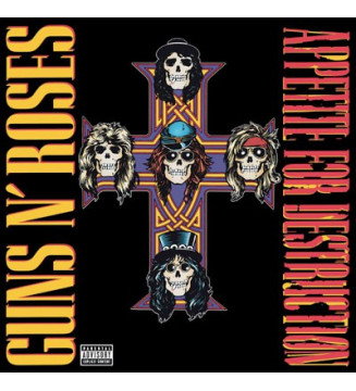 Guns N' Roses - Appetite For Destruction (LP, Album, RE, 180) mesvinyles.fr