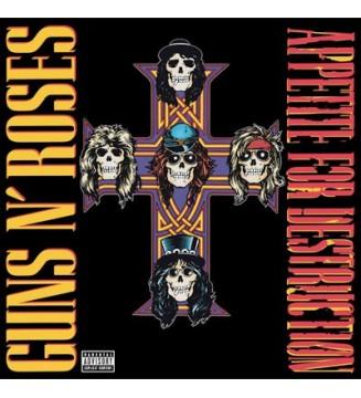Guns N' Roses - Appetite For Destruction (LP, Album, RE, 180)