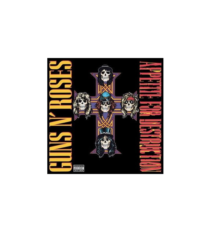 Guns N' Roses - Appetite For Destruction (LP, Album, RE, 180) mesvinyles.fr