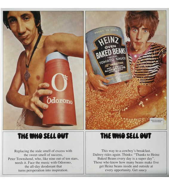 The Who - The Who Sell Out (LP, Mono, Album, RE)