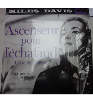 Miles Davis - Ascenseur Pour L'Échafaud (Lift To The Scaffold) (LP, Album, RP, 180)