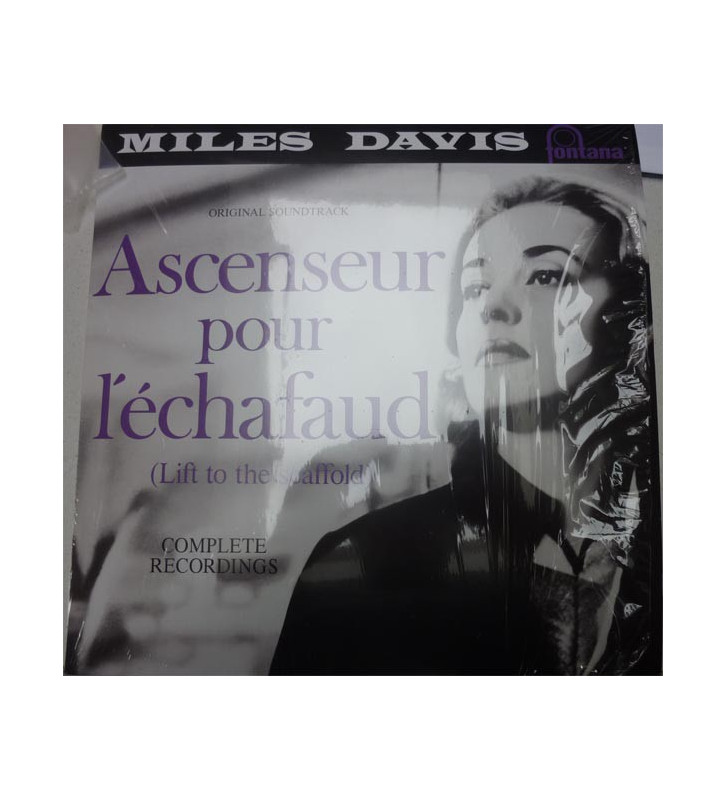 Miles Davis - Ascenseur Pour L'Échafaud (Lift To The Scaffold) (LP, Album, RP, 180) mesvinyles.fr