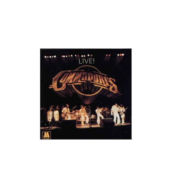 Commodores - Live! (2xLP, Album)