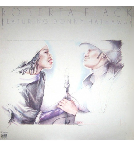 Roberta Flack Featuring Donny Hathaway - Roberta Flack Featuring Donny Hathaway (LP, Album) mesvinyles.fr