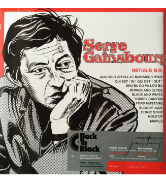 Serge Gainsbourg - Initials B.B. (LP, Album, RE, RM) mesvinyles.fr
