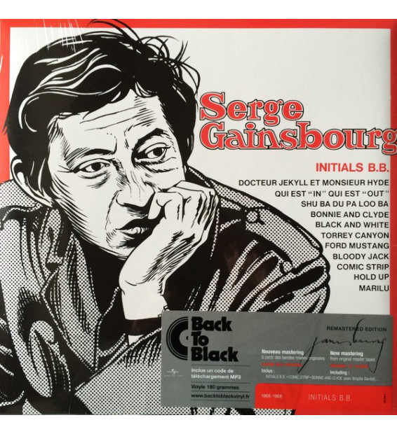 Serge Gainsbourg - Initials B.B. (LP, Album, RE, RM)