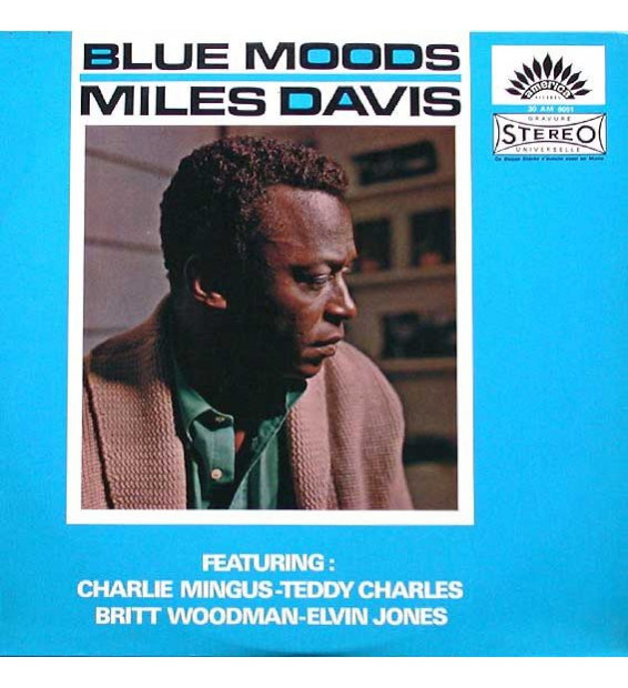 Miles Davis - Blue Moods (LP, Album, RE) mesvinyles.fr