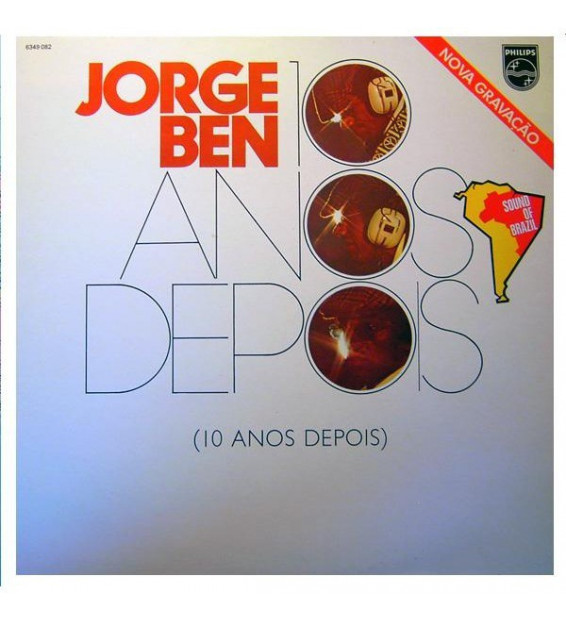 Jorge Ben - 10 Anos Depois (LP, Album) mesvinyles.fr
