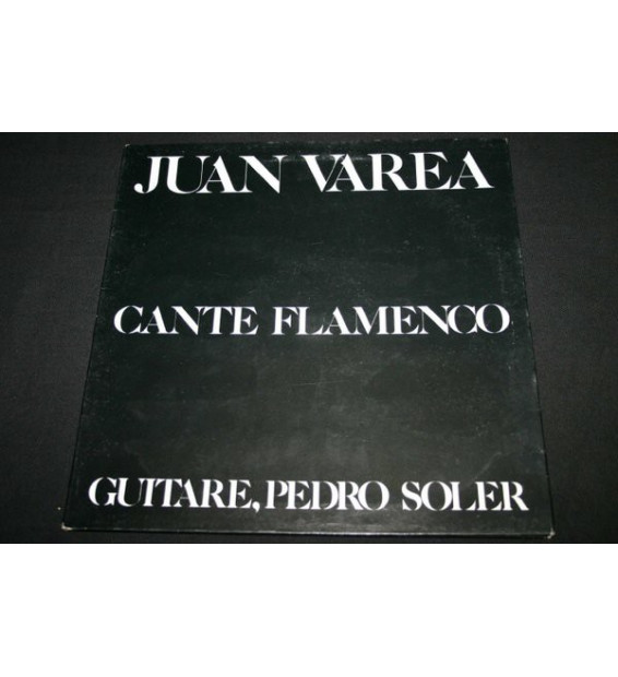 Juan Varea - Cante Flamenco (LP)