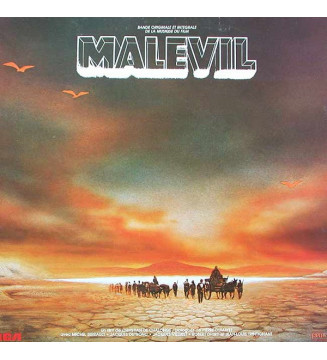 Gabriel Yared - Malevil (Bande Originale Et Intégrale De La Musique Du Film) (LP) mesvinyles.fr