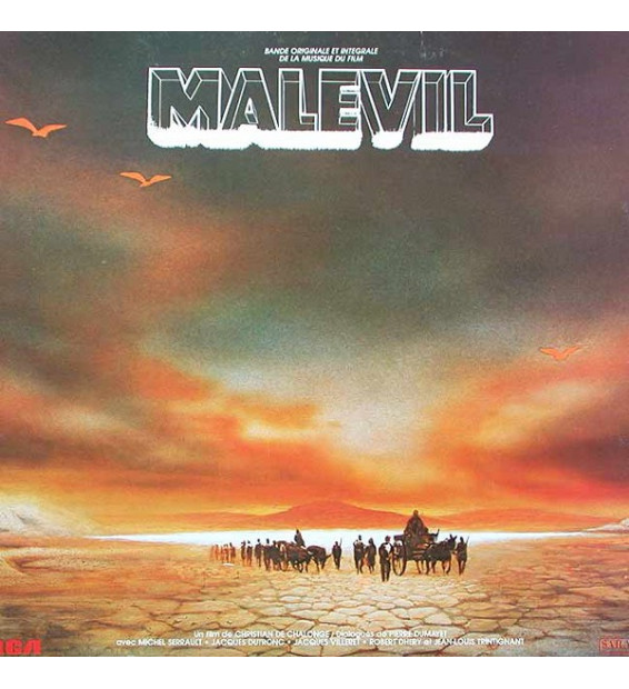 Gabriel Yared - Malevil (Bande Originale Et Intégrale De La Musique Du Film) (LP)