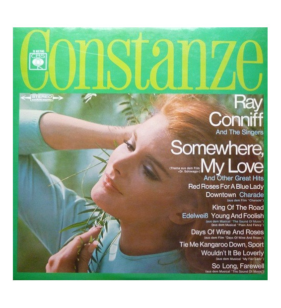 Vinyle - Ray Conniff And The Singers - Somewhere, My Love