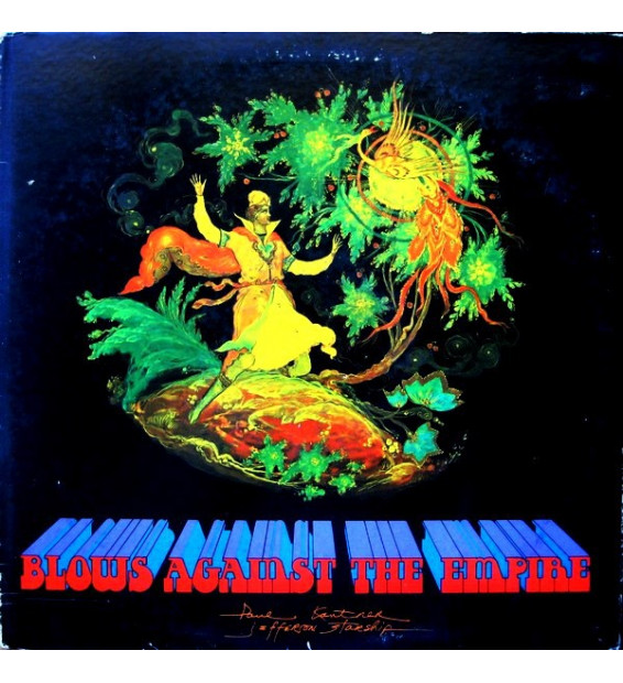 Paul Kantner / Jefferson Starship - Blows Against The Empire (LP, Album, Gat) mesvinyles.fr