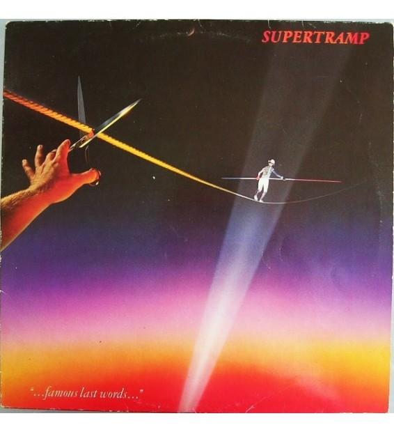 """Vinyle - Supertramp - """"...Famous Last Words..."""""""