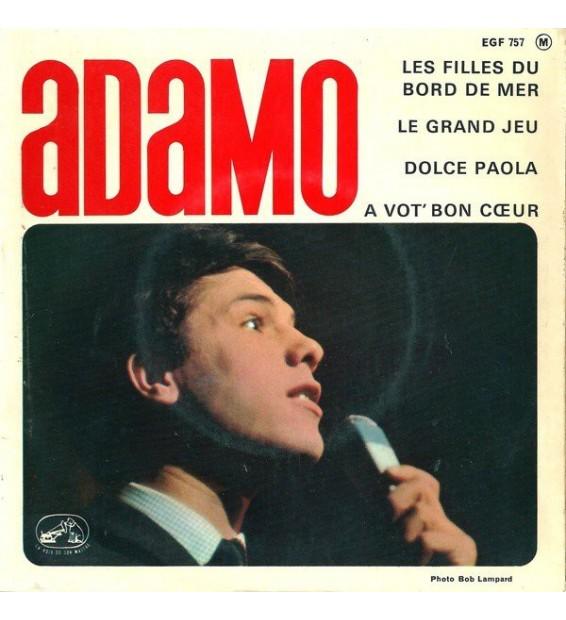 "Adamo - Les Filles Du Bord De Mer (7"", EP) mesvinyles.fr"