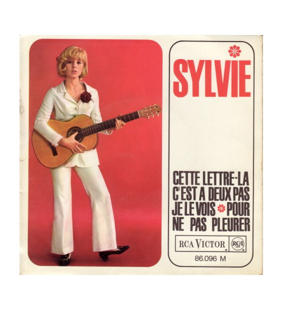 """Sylvie Vartan - Cette Lettre La (7"""", EP, Mono)"""
