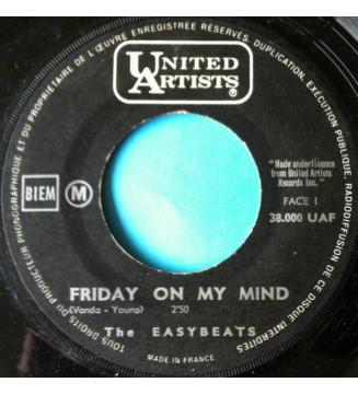 "The Easybeats - Friday On My Mind (7"", Single, Mono) mesvinyles.fr"