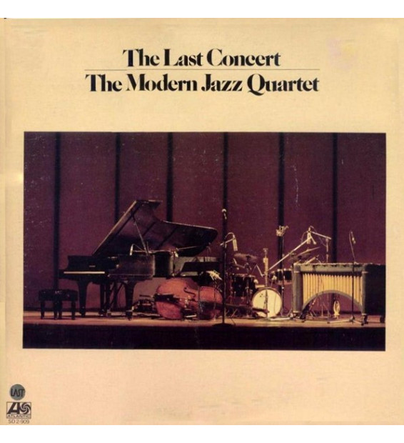 The Modern Jazz Quartet - The Last Concert (2xLP, Album, Gat)