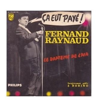 "Fernand Raynaud - Ça Eut Payé (Le Paysan) (7"", EP) mesvinyles.fr"