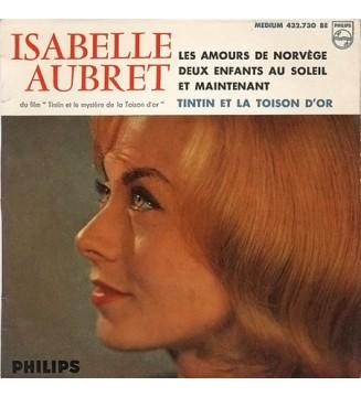 """Isabelle Aubret - Tintin Et La Toison D'Or (4ème Série) (7"""", EP) mesvinyles.fr"""